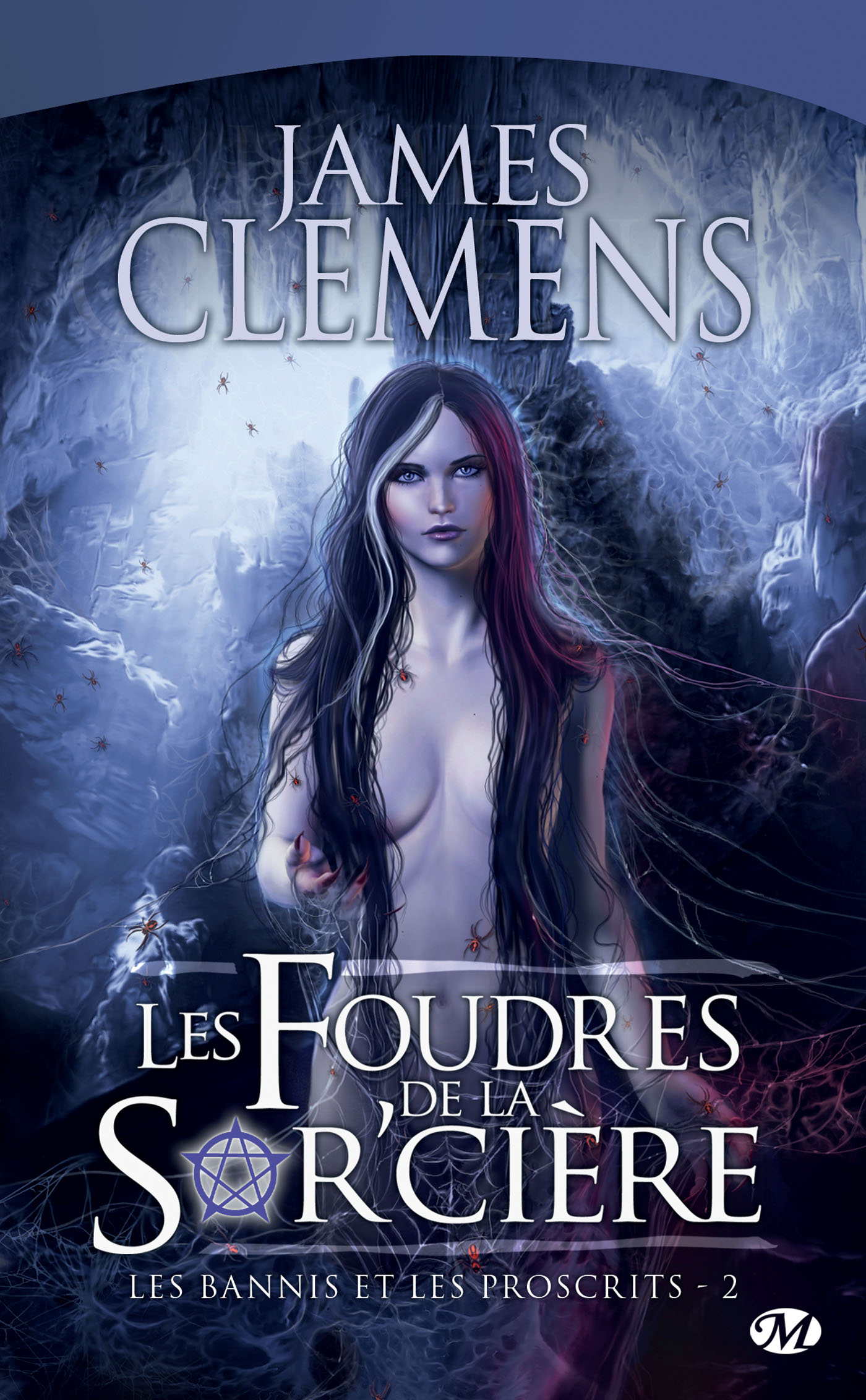Couverture du tome 2 Les Foudres de la Sor'cière de James Clemens
